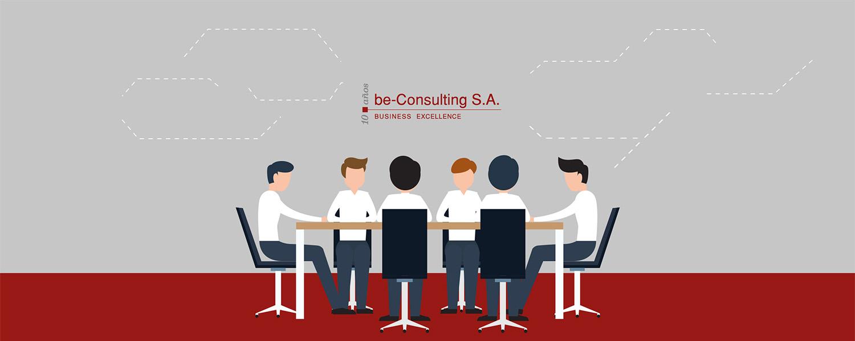 ilustración de personas trabajando alrededor de una mesa